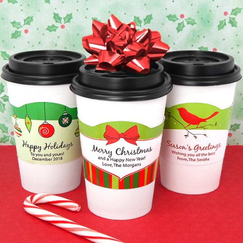 Personalized Holiday Sleeves