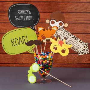 Personalized Baby Shower Photo Booth Props