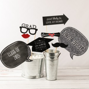 Personalized Party Photo Booth Props