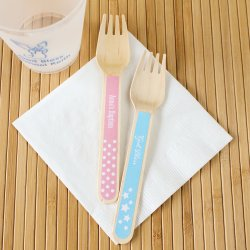 Personalized Party Wooden Utensils
