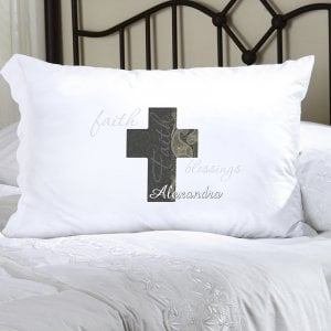 Personalized Religious Pillowcase