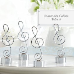 Music Note Place Card/Photo Holder