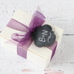 Chalkboard Shaped Tags