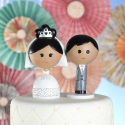 Kokeshi Cake Toppers