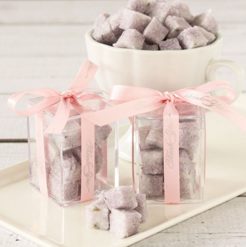 Flavored Sugar Cubes Favor Boxes