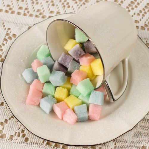 Assorted Flavored Sugar Cubes