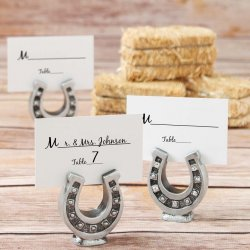Horseshoe Place Card Holder