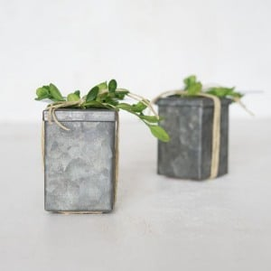 Mini Tin Favor Boxes