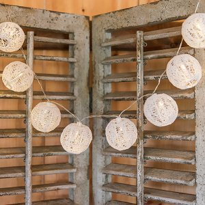 Lace Lantern String Lights