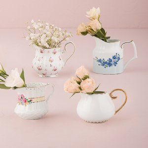 Vintage Creamer Vase Set