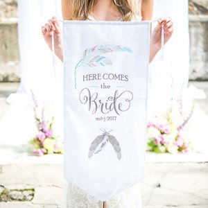 Personalized Ceremony Banner