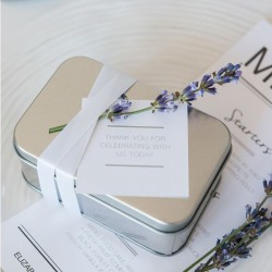 Rectangular Tin Favor Boxes