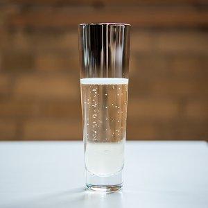 Silver Ombre Glassware