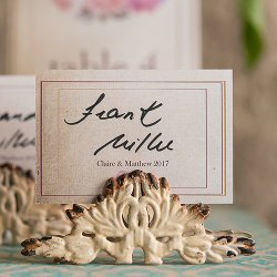 Antique Place Card Holder