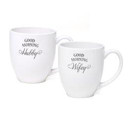 Wifey/Hubby Mug Set
