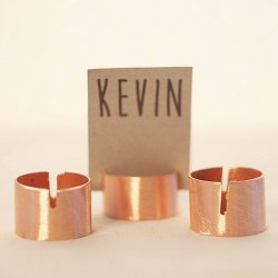 Copper Place Card Holders