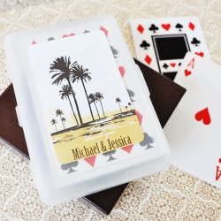 Playing Cards with Personalized Labels