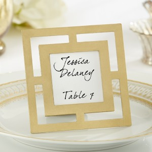 Modern Place Card Holder/Frame