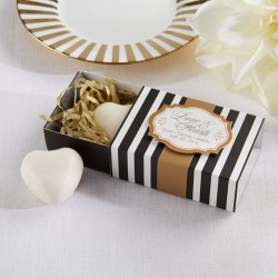 Heart Shaped Soap Favor
