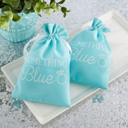Something Blue Favor Bags