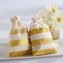 Striped Favor Bags