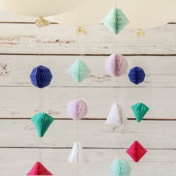Mini Geometric Garland