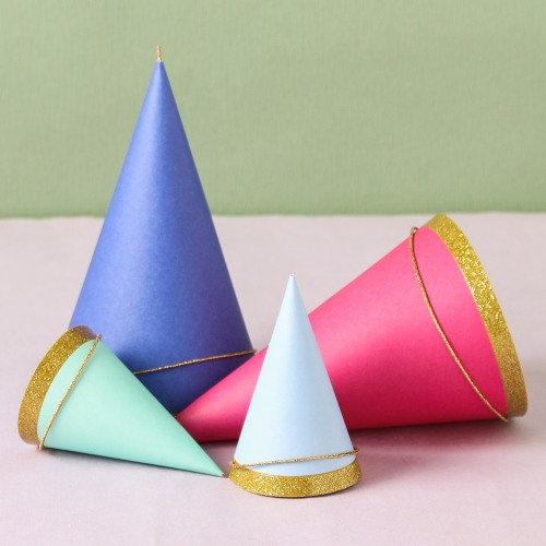 Colored Party Hats