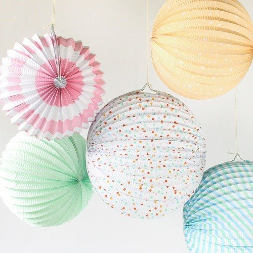 Paper Accordian Lanterns