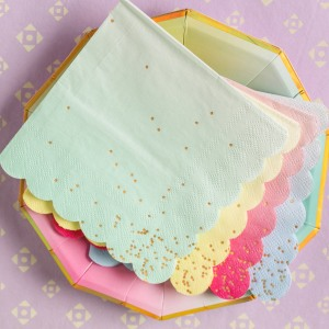 "Toot Sweet Ombre 5"" Napkins"