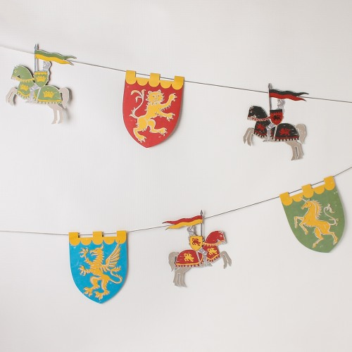 Knights Party Garland