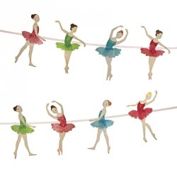 Ballerina Party Garland