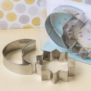 Sun & Moon Cookie Cutters
