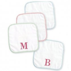 Initial Washcloth Set