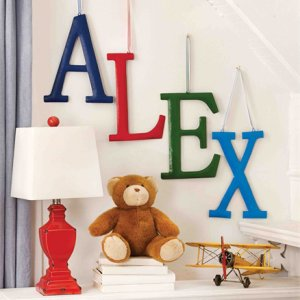Hanging Letter Decor