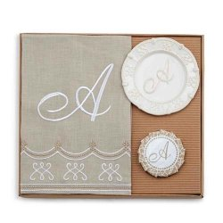 Monogram Towel Gift Set