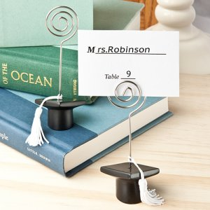 Graduation Cap Place Card/Photo Holders