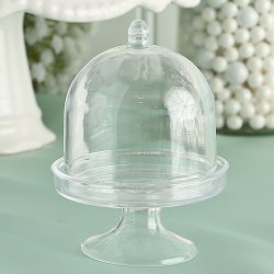 Mini Acrylic Cake Stand with Lid