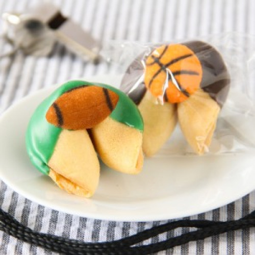 Custom Party Fortune Cookie football