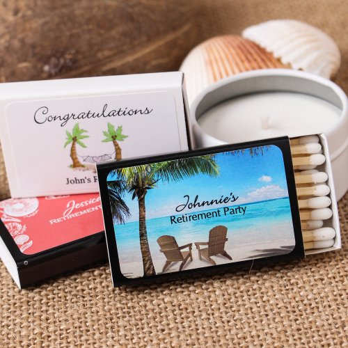 Personalized Themed Party Matchboxes