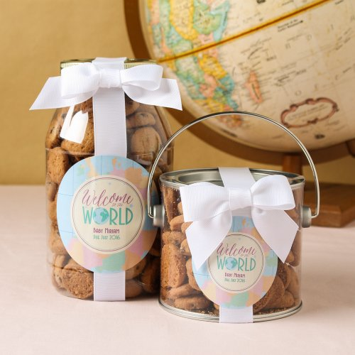 Personalized Baby Cookie Gift Jars