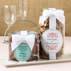 Personalized Bridal Cookie Gift Jars