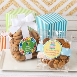 Personalized Birthday Cookie Favor Bags