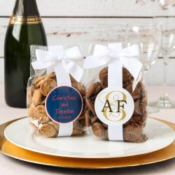 Personalized Bridal Cookie Favor Bags