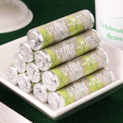 Personalized Party Breath Mint Candy Rolls