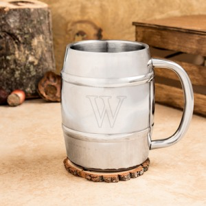 Personalized Keg Mug