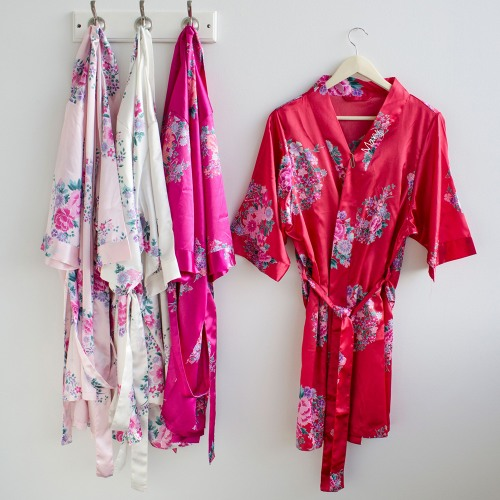 Personalized Satin Robes