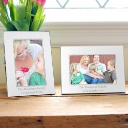 Personalized Beaded Frame