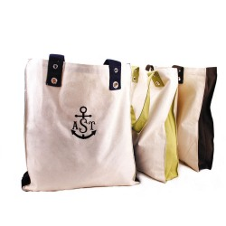 Personalized Tote with Grommet