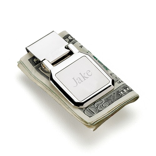 Personalized Folding Money Clip
