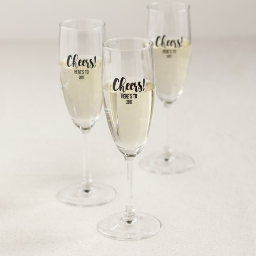 Personalized Party Champagne Flute Favors